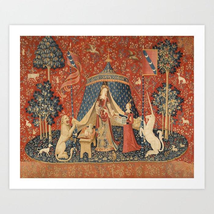The Lady And The Unicorn Kunstdrucke
