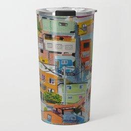 Casas de colores. Medellín Travel Mug