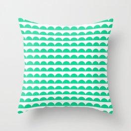 BREE ((emerald green)) Throw Pillow