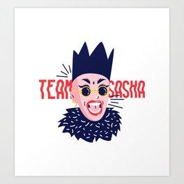 Team Sasha Art Print