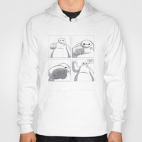 big hero 6 Hoodies featuring Big Hero 6 - Baymax  by MarcoMellark