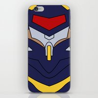 evangelion iPhone & iPod Skins featuring Evangelion Mark.06 by Bunny Frost