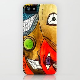 It's scary in here iPhone Case