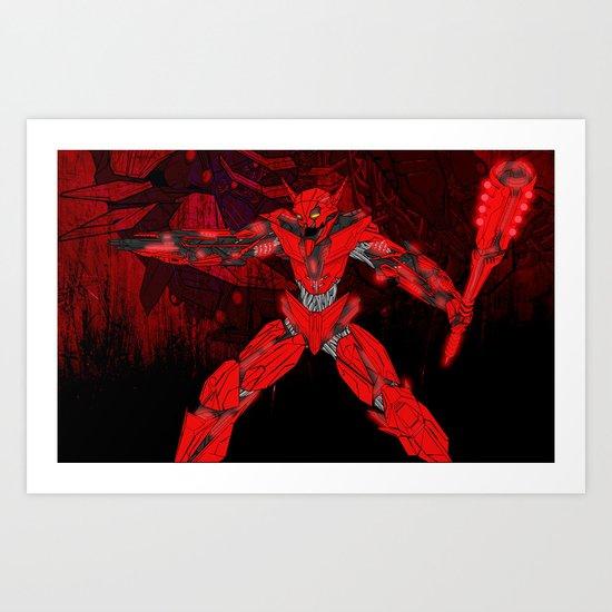 Ultracrash 6 Art Print