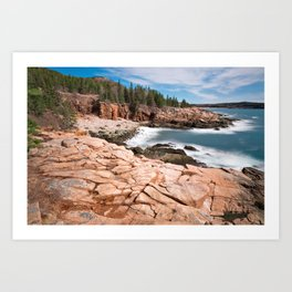 Acadia National Park - Thunder Hole Art Print