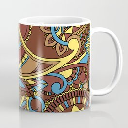 Mandala Background Coffee Mug