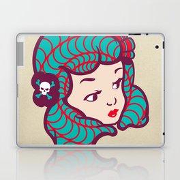 Girl Power Dynamite Laser Beam Laptop & iPad Skin