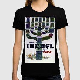 Israel Vintage Travel Poster T-shirt