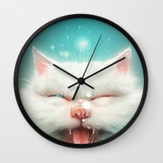 The Water Kitty Wall Clock