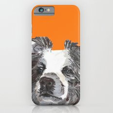 Border Collie printed from an original painting by Jiri Bures Slim Case iPhone 6s