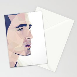 Lee Pace - Low Poly Stationery Cards