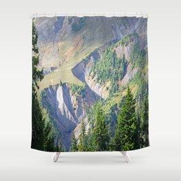 SWIFT CREEK HEADWATERS BELOW TABLE MOUNTAIN Shower Curtain