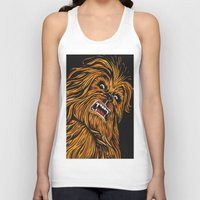 chewbacca Tank Tops featuring Chewbacca by Laura-A