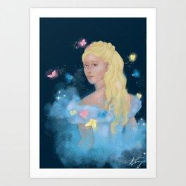 Chime of the night Art Print