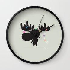 The Happy Christmas Wall Clock