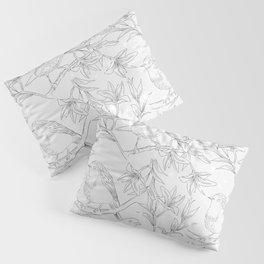 Birds & Flowers Pillow Sham