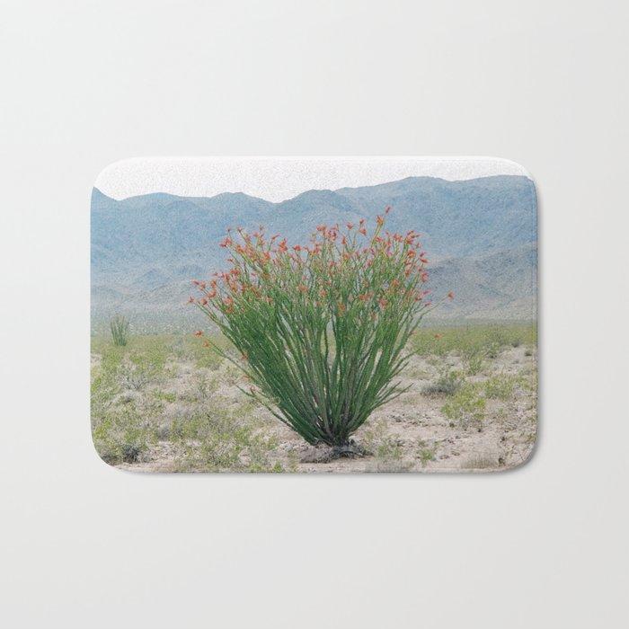 Ocotillo Plant (Anza Borrego Desert, California) Bath Mat