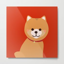 Puppy / Dog (Chinese New Year) Metal Print