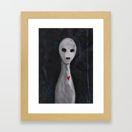 Portraits of Ghosts #5 Framed Art Print