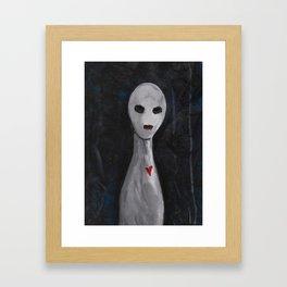 Portraits of Ghosts #5 Framed Art Print