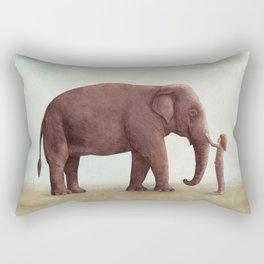 One Amazing Elephant Rectangular Pillow