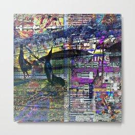 Adapters (Recombinant Series) Metal Print