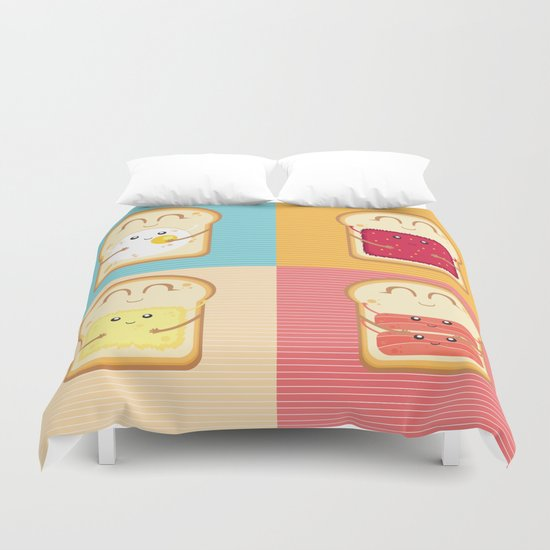 Love your Breakfast Duvet Cover