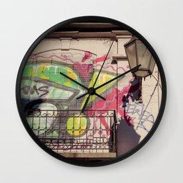 Lisbon wall Wall Clock