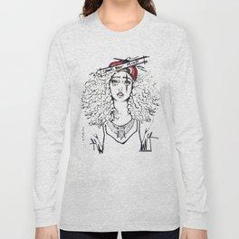 #STUKGIRL SKY Long Sleeve T-shirt