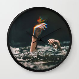 Unsavable Wall Clock