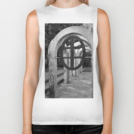 Small Park with Arches II Biker Tank