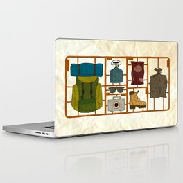 Camping Kit Laptop & iPad Skin