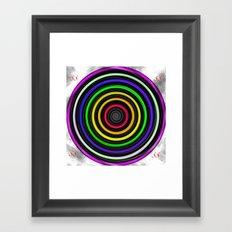 Sacred-Symmetry: Tunnel Of Love  Framed Art Print