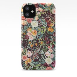 Fall Floral iPhone Case
