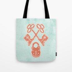 Keys and Lock Tote Bag