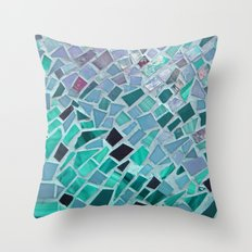 Energy Mosaic Throw Pillow