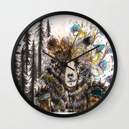 pedo bear Wall Clock