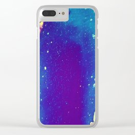 Enjoy your life No17 Clear iPhone Case