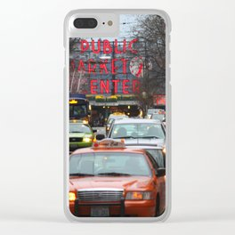 Pike Place Market Photography Print Clear iPhone Case
