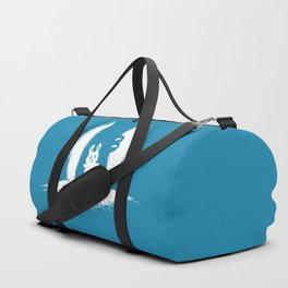 cornered! (bunny and crocodile) Duffle Bag