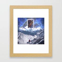 HOM SHANTI Framed Art Print