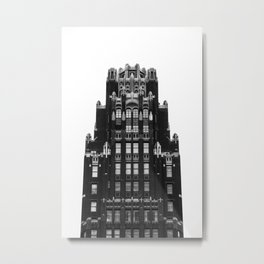 American Radiator Building Metal Print