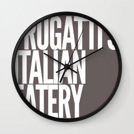Frugatti's 2 Wall Clock