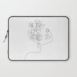 Dreamy Girl Bloom Laptop Sleeve