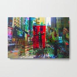 New York 8 Metal Print