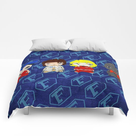 A Boy - Captain Future (Capitaine Flam) Comforters