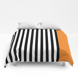 Liquorice allsorts, orange Comforters