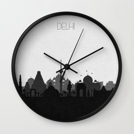 City Skylines: Delhi Wall Clock