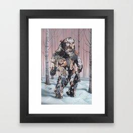 Catsquatch (super high res) Framed Art Print
