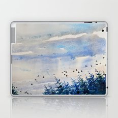 black birds, blue sky Laptop & iPad Skin